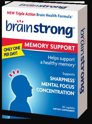 BrainStrong Focus Supplements